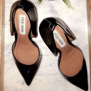 "Steve Madden black 4"" heels"